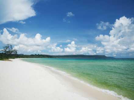 A Sandy Beach on Koh Rong