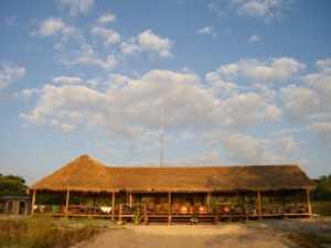 The bar at Lazy Beach