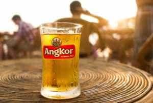 Beer at Waterfall