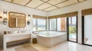 Bathroom in Royal Sands Room