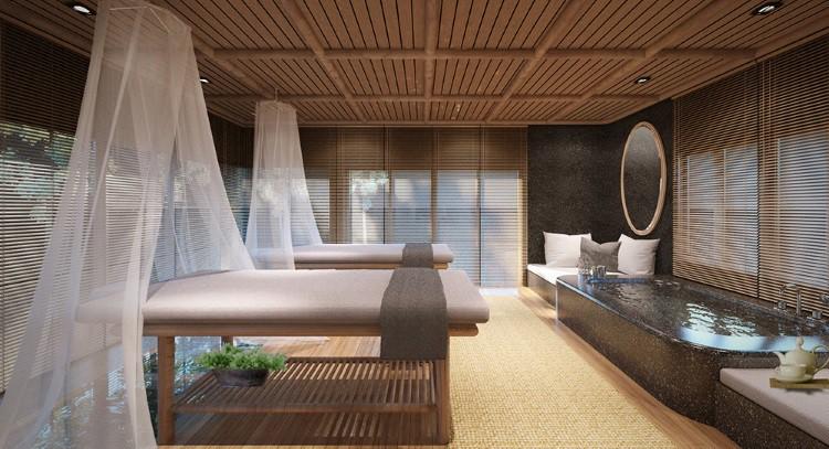 Spa Room at The Royal Sands