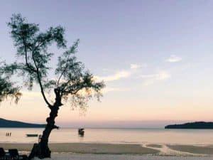 Sunset at Saracen Bay