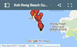 Map-of-Koh-Rong-Island-in-Cambodia