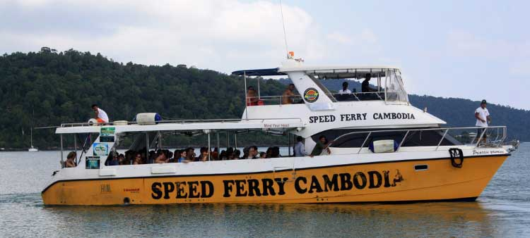 Speed Ferry Cambodia from Sihanoukville to Koh Rong