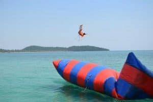 Blob Jump on Koh Rong Island